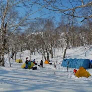 Base camp in Ganalskiy range