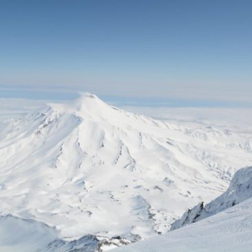 Avachinskiy volcano, and it's endless slopes.