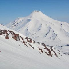 West side of Avachinsky volcano, view from Koryaksky volcano.