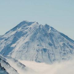 North-West slopes of Koryaksky volcano.