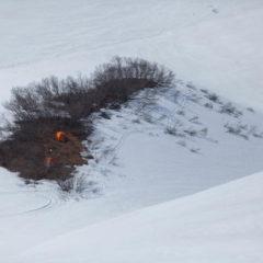 Beginning of June, Viluchinsky volcano.