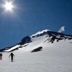 Mid-June, Viluchinsky volcano.