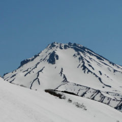 Beginning of June, Viluchinsky volcano.