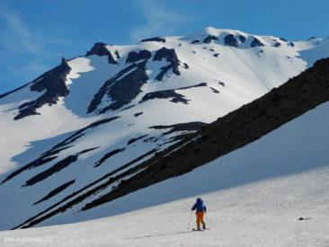 Beginning of June, Kozelsky volcano.