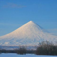 Kluchevskaya sopka volcano