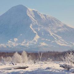 Ostry Tolbachik volcano