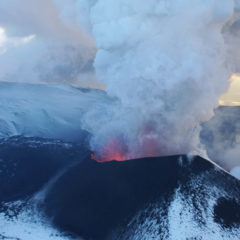 Eruption of Plosky Tolbachik volcano, 2012-2013.