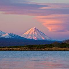 Kronotsky volcano
