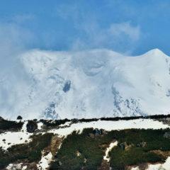 Ichinskaya Sopka volcano