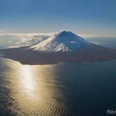 Alaid volcano (Atlasova island).