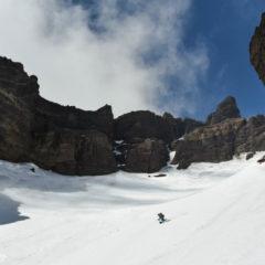 Canyons of Koryaksky volcano