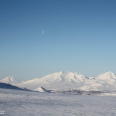 Asacha and Khodutka volcanoes