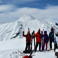 Top of Kozelsky volcano